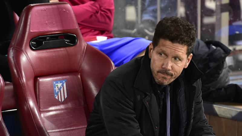 ATLETICO MADRID BAYER LEVERKUSEN DIEGO SIMEONE CHAMPIONS LEAGUE 15032016