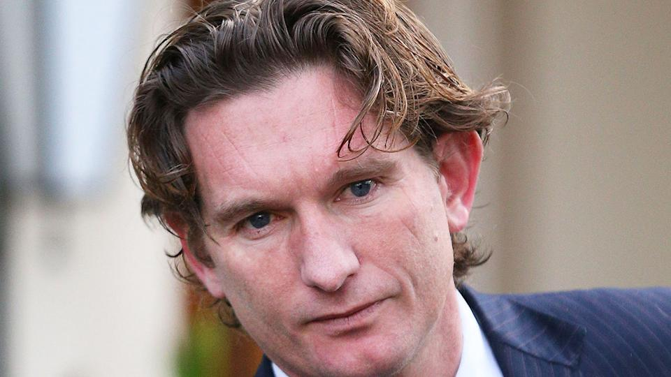 Pictured here, former Essendon coach James Hird.