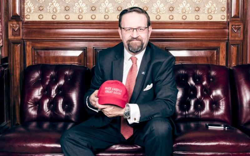 Dr Sebastian Gorka grew up and was educated in England. He is now one of Donald Trump's closest advisers - Stefan Ruiz