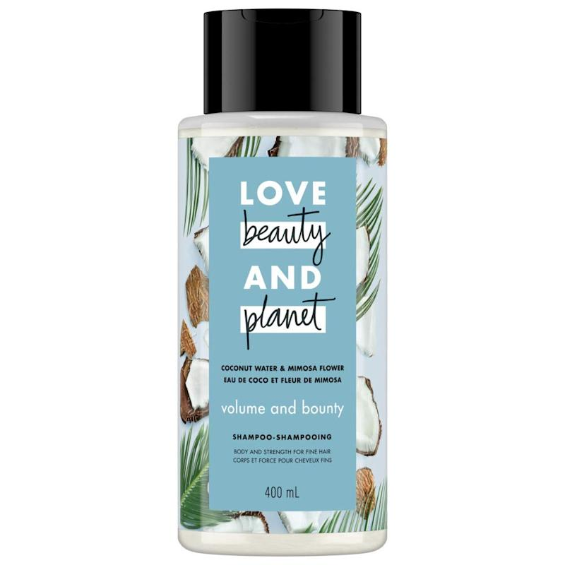 Love Beauty and Planet Coconut Water & Mimosa Flower Shampoo Volume & Bounty