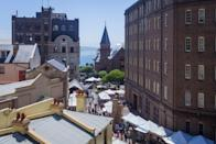 """<p><strong>Tell me: What's this place all about?</strong><br> Sydney's oldest colonial neighborhood, the Rocks is a warren of atmospheric sandstone warehouses, quiet courtyards, and cobbled alleys on the western side of Circular Quay. Enjoy spectacular views of <a href=""""https://www.cntraveler.com/activities/sydney/sydney-harbour-bridge?mbid=synd_yahoo_rss"""" rel=""""nofollow noopener"""" target=""""_blank"""" data-ylk=""""slk:Sydney Harbour Bridge"""" class=""""link rapid-noclick-resp"""">Sydney Harbour Bridge</a> looming over this historic district, and <a href=""""https://www.cntraveler.com/activities/sydney/sydney-opera-house?mbid=synd_yahoo_rss"""" rel=""""nofollow noopener"""" target=""""_blank"""" data-ylk=""""slk:Sydney Opera House"""" class=""""link rapid-noclick-resp"""">Sydney Opera House</a> opposite. The birthplace of modern Sydney, this was where the First Fleet of British colonists and convicts stepped ashore in 1788. The oldest remaining building is 1816-founded Cadmans Cottage, beside the <a href=""""https://www.cntraveler.com/activities/sydney/museum-of-contemporary-art-australia?mbid=synd_yahoo_rss"""" rel=""""nofollow noopener"""" target=""""_blank"""" data-ylk=""""slk:Museum of Contemporary Art (MCA)"""" class=""""link rapid-noclick-resp"""">Museum of Contemporary Art (MCA)</a>, a handy starting point for a walk around the area's 19th-century buildings, heritage pubs, cafes, shops, and galleries.</p> <p><strong>What's it like being there?</strong><br> You'll be transported back in time wandering the Rocks's shady backstreets, including skinny Nurses Walk and Suez Canal (between Harrington and George streets), once frequented by local gangs.</p> <p><strong>Is there a guide involved?</strong><br> <a href=""""https://www.rockswalkingtours.com.au/"""" rel=""""nofollow noopener"""" target=""""_blank"""" data-ylk=""""slk:The Rocks Walking Tours"""" class=""""link rapid-noclick-resp"""">The Rocks Walking Tours</a> offers 90-minute guided strolls, departing daily at 10.30 a.m. and 1.30 p.m. from Shop 5 Clocktower Square, at the corner of Argyle and Harrington streets."""