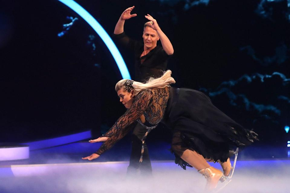 Gemma Collins and DOI partner Matt Evers (Credit: Rex)