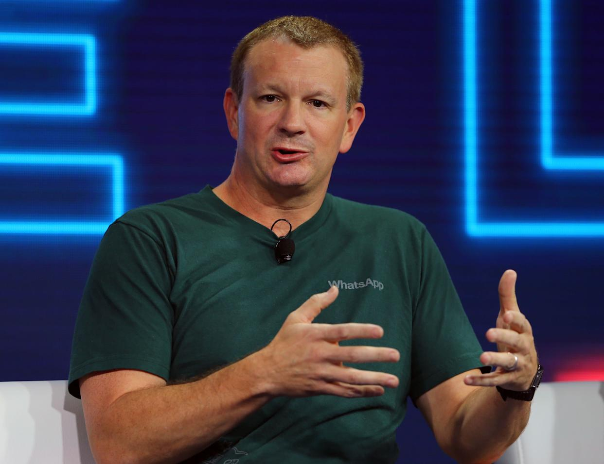 Brian Acton, co-founder of WhatsApp (Photo: Mike Blake / Reuters)