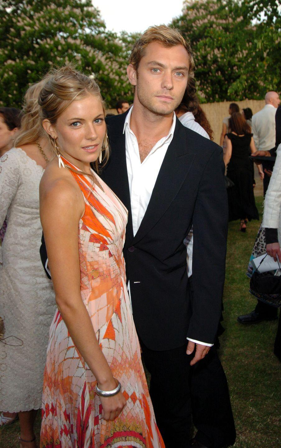 """<p>According to<em> <a href=""""https://www.usmagazine.com/celebrity-news/news/sienna-miller-love-you-voicemail-message-daniel-craig-jude-law-2014281/"""" rel=""""nofollow noopener"""" target=""""_blank"""" data-ylk=""""slk:Us Weekly"""" class=""""link rapid-noclick-resp"""">Us Weekly</a></em>, Sienna was also two-timing her fiancé in 2005—and she was doing it with his former co-star and friend, Daniel Craig. It was revealed when a voicemail, in which Sienna told Daniel she loved him, was made public. But Jude stood by her, at least, until they ultimately split in 2011 and married other people.</p>"""