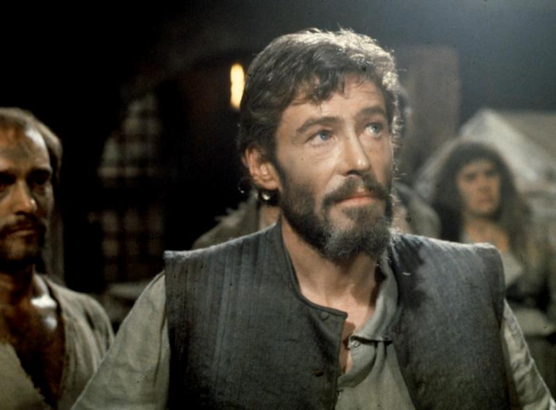 """FILE - In this 1973 file photo, Actor Peter O'Toole is shown from the movie """"Man of La Mancha."""" O'Toole, the charismatic actor who achieved instant stardom as Lawrence of Arabia and was nominated eight times for an Academy Award, has died. He was 81. O'Toole's agent Steve Kenis says the actor died Saturday, Dec. 14, 2013 at a hospital following a long illness. (AP Photo/File)"""