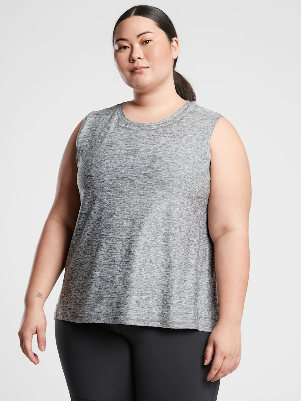 """<p><strong>Athleta</strong></p><p>athleta.gap.com</p><p><strong>$54.00</strong></p><p><a href=""""https://go.redirectingat.com?id=74968X1596630&url=https%3A%2F%2Fathleta.gap.com%2Fbrowse%2Fproduct.do%3Fpid%3D657815012%26cid%3D1170454%26pcid%3D46752%26vid%3D1%26grid%3Dpds_5_96_1%23pdp-page-content&sref=https%3A%2F%2Fwww.prevention.com%2Fbeauty%2Fstyle%2Fg36320853%2Fbest-sun-protective-clothing%2F"""" rel=""""nofollow noopener"""" target=""""_blank"""" data-ylk=""""slk:Shop Now"""" class=""""link rapid-noclick-resp"""">Shop Now</a></p><p>With <strong>UPF 50+ sun protection</strong>, this easygoing tank from Athleta is way more effective than it appears, meaning you won't stand out too much on your next run or trip to the brewery.</p>"""