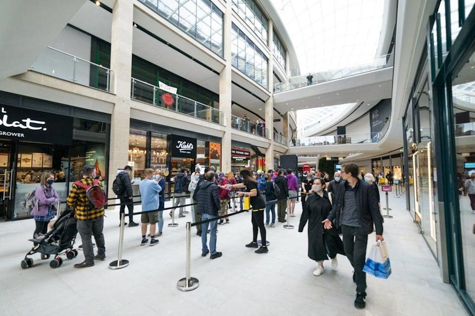 Retail sales slowed in September, according to new figures (Jane Barlow/PA) (PA Wire)