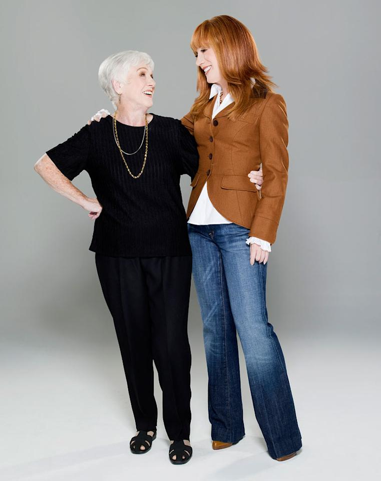 Maggie Griffin and Kathy Griffin in Kathy Griffin: My Life on the D-list.