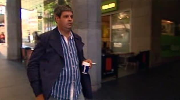 Peter Lewis Sheather (pictured) sent sexually explicit images and messages to nine women. Photo: 7News