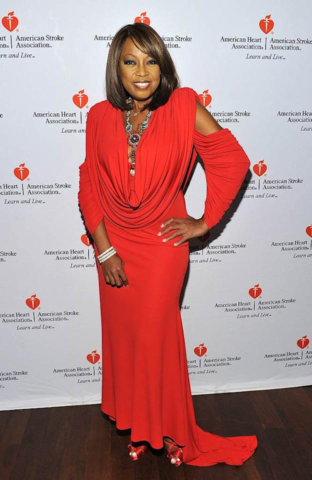 """NeNe's """"Apprentice"""" nemesis Star Jones opted to attend another viewing party at New York's OPIA Lounge to benefit the American Heart Association. Why the bad blood between the two women? """"She's a piece of work,"""" Leakes said of Jones during a press call. """"Anyone who sits around all day and says all her friends are doctors and lawyers and A-list celebrities -- cut the BS, I don't have time for it."""" Mike Coppola/<a href=""""http://www.wireimage.com"""" target=""""new"""">WireImage.com</a> - March 6, 2011"""
