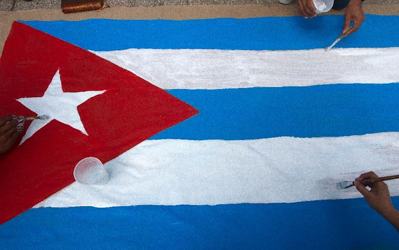 Half of the Cuban men's field hockey team at the Pan American Games in Toronto defected to the United States, a player and sources close to the Cuban delegation said