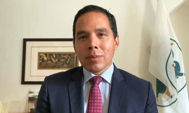 Natan Obed is set to be the ITK president for the next four years. (CBC - image credit)