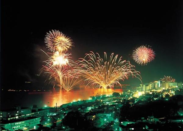 Fireworks festival held every night from late April to October