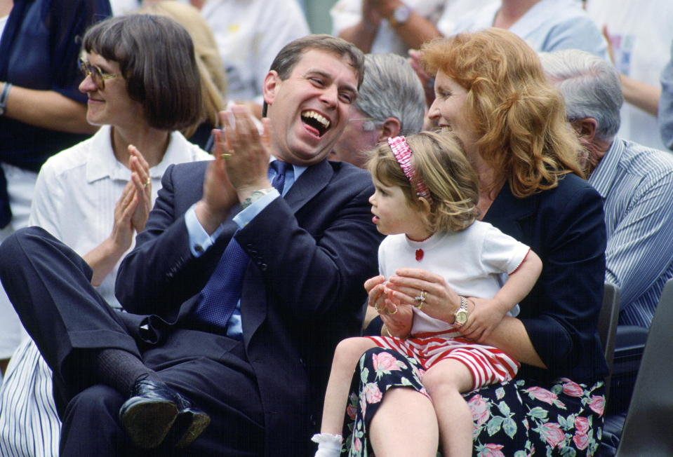 The Duke and Duchess of York have been divorced since the '90s but have remained close as co-parents to their daughters, Princesses Beatrice and Eugenie. Photo: Getty Images