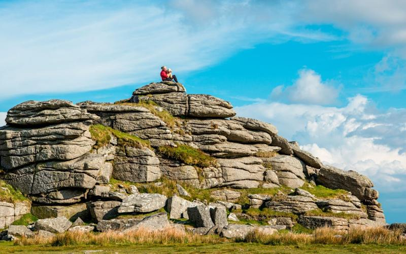 Social media fizzes with outrage on the part of residents and regular users of Dartmoor - getty