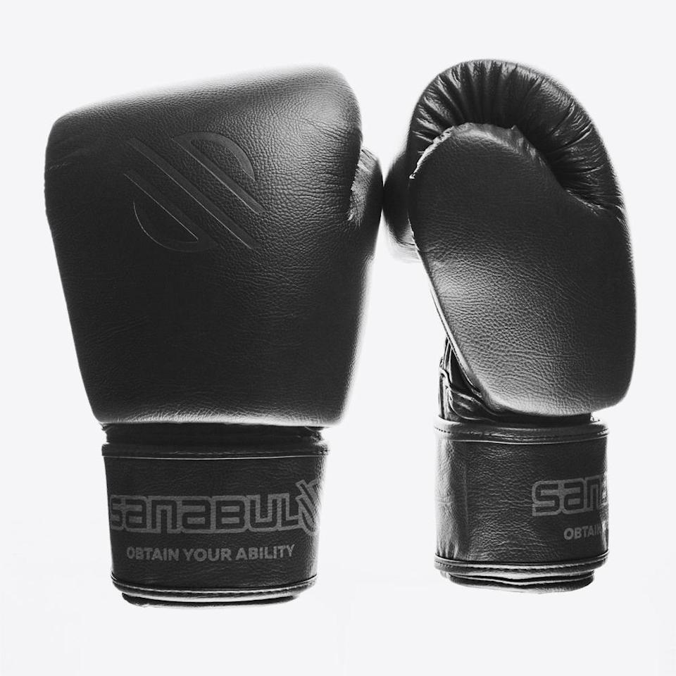 "<p>sanabulsports.com</p><p><a href=""https://go.redirectingat.com?id=74968X1596630&url=https%3A%2F%2Fsanabulsports.com%2Fcollections%2Fstriking-equipment%2Fproducts%2Fmuay-thai-gloves-battle-forged%3Fvariant%3D40727933902&sref=https%3A%2F%2Fwww.redbookmag.com%2Flife%2Fg34945749%2F9-exercises-that-burn-more-calories-than-running%2F"" rel=""nofollow noopener"" target=""_blank"" data-ylk=""slk:Shop Now"" class=""link rapid-noclick-resp"">Shop Now</a></p><p>Shadowboxing is fun, but if you really want to blow off some steam while you're torching calories, take your stress out on a bag. For that, these Muay Thai (Thai boxing) gloves will keep your knuckles in prime condition. </p>"