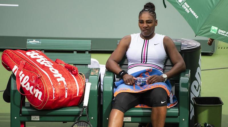 Ailing Serena Williams Retires As Roger Federer Rafael Nadal Move On At Indian Wells