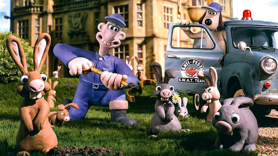 'Wallace and Gromit: The Curse of the Were-Rabbit'. (DreamWorks)