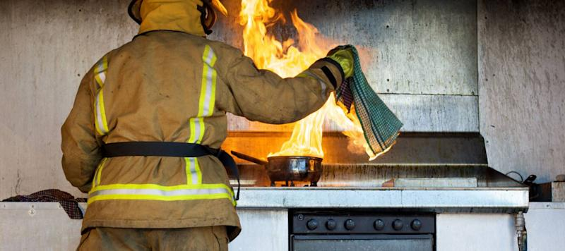 The 10 Costliest States for Cooking Fires