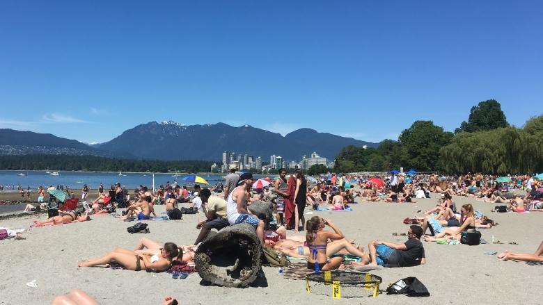 B.C.'s hot, hot heat set to peak Thursday, with Interior highs hitting 40 C