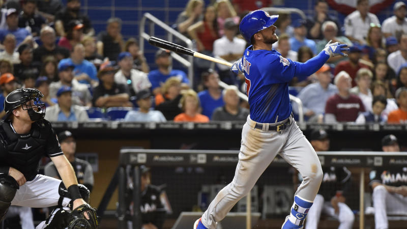 Cubs prevail in extra innings again, Phillies using all their pitchers