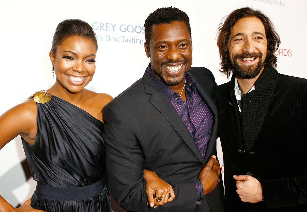 "<a href=""http://movies.yahoo.com/movie/contributor/1800018551"">Gabrielle Union</a>, <a href=""http://movies.yahoo.com/movie/contributor/1804034838"">Eamonn Walker</a> and <a href=""http://movies.yahoo.com/movie/contributor/1800018941"">Adrien Brody</a> at the Los Angeles premiere of <a href=""http://movies.yahoo.com/movie/1810003875/info"">Cadillac Records</a> - 11/24/2008"