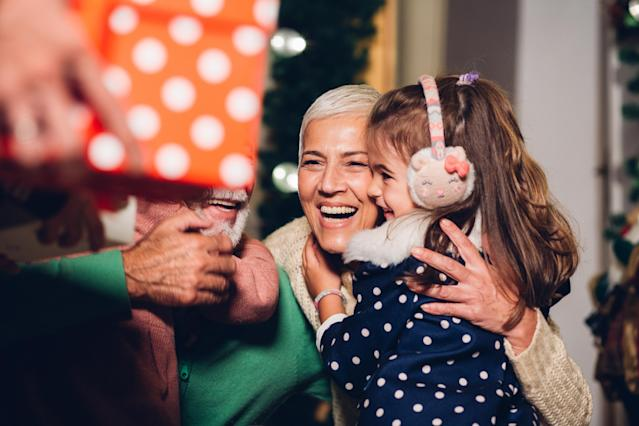 Get the world's best grandparents a gift they'll love this Christmas. (Photo: Getty Images)