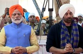 'People famous for cross-border activities': Twitter cracks up with memes and jokes as PM Modi and Sunny Deol pray together