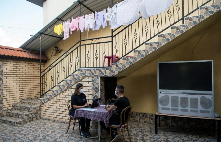 The last census in what is now Northern Macedonia took place in 2002 following an armed conflict between ethnic Albanian rebels and government forces (AFP/Robert ATANASOVSKI)