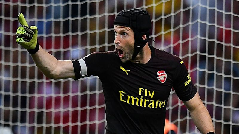 1ab920766 Cech defends ability to adapt to Emery s style at Arsenal