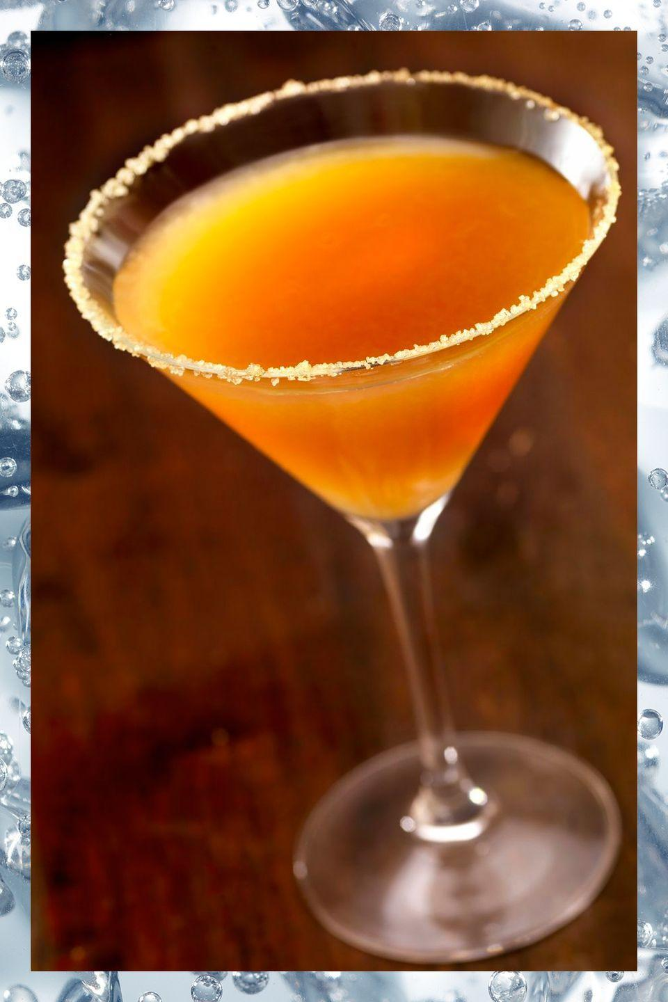 """<p>This simple mix of brandy, lemon juice, and orange liqueur dates to the 1920s. Once you try one you'll understand why the recipe has survived so long.</p><p>- 2 oz VS or VSOP Cognac<br>- 1 oz Cointreau<br>- .75 oz lemon juice</p><p><em>Shake ingredients with ice. Strain into a rocks glass or a cocktail class with a sugar-coated rim.</em></p><p><strong>More: </strong><a href=""""http://www.townandcountrymag.com/leisure/drinks/g2920/cognac-cocktails/"""" rel=""""nofollow noopener"""" target=""""_blank"""" data-ylk=""""slk:Cognac Cocktails to Make at Home"""" class=""""link rapid-noclick-resp"""">Cognac Cocktails to Make at Home</a><br></p>"""