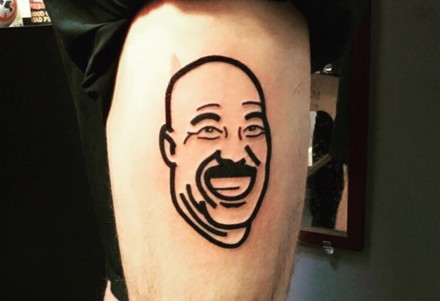Is this LaVar Ball tattoo real or fake? (Instagram/foustythesnowman)