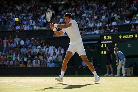 Djokovic muscles in on women's quarter-final day