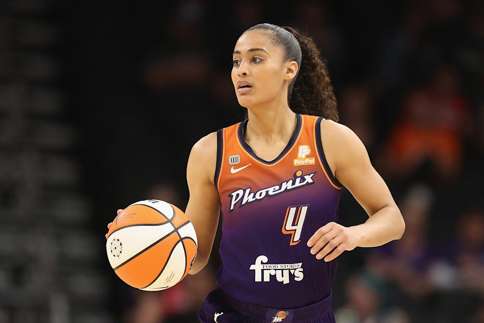 Skylar Diggins-Smith has been a consistent force for the Mercury this season. (Christian Petersen/Getty Images)