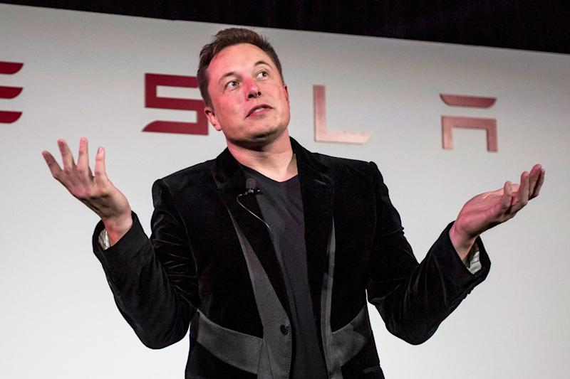 Tesla Shares Tumble After Elon Musk's