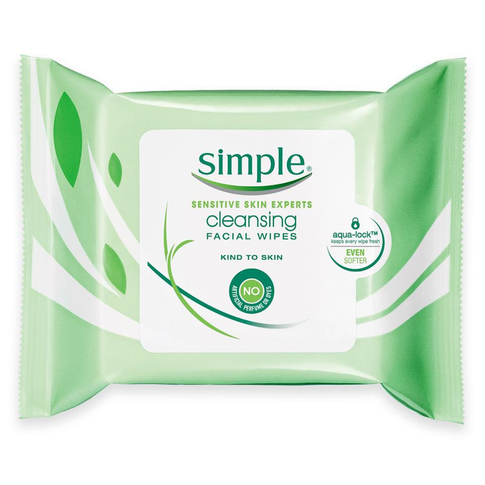 """<p>""""Not only do these wipes take off <em>all</em> of my makeup, they're also far from irritating. But what I really love about them is that they don't leave behind that gross layer of slime like other cloths I've used."""" <em>—Sophia Panych, deputy digital beauty director</em></p><p>$5.99 for 25 wipes (<a rel=""""nofollow"""" href=""""http://www.ulta.com/kind-skin-cleansing-facial-wipes?mbid=synd_yahoobeauty&productId=xlsImpprod4180779"""">ulta.com</a>)</p>"""