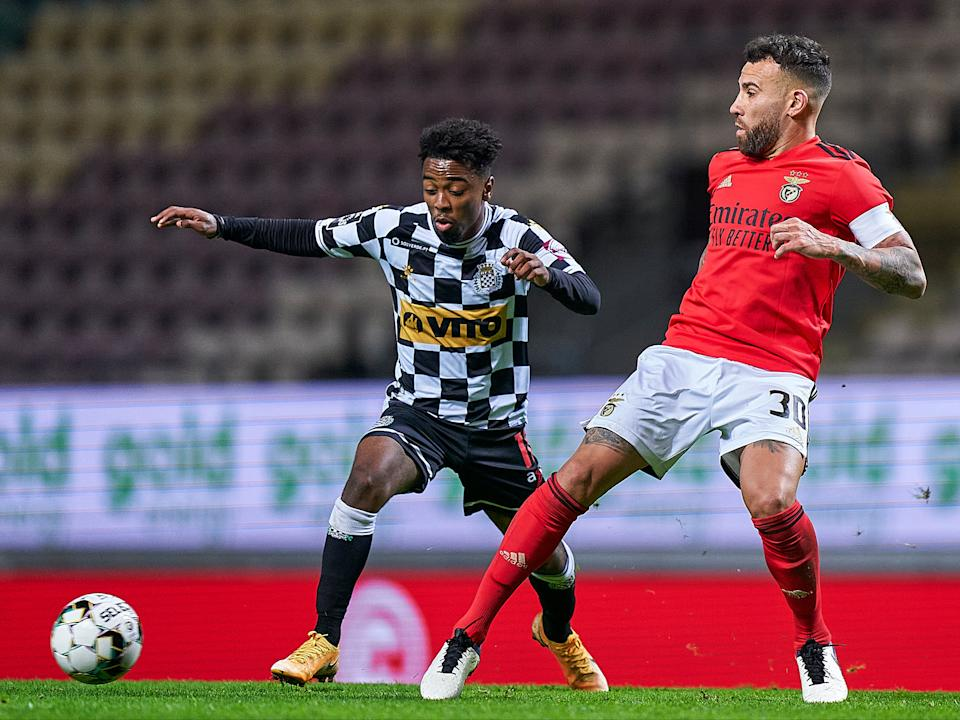 <p>Angel Gomes has made a phenomenal start on loan at Boavista</p>Getty Images