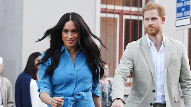 Meghan, Duchess of Sussex, and Harry, Duke of Sussex in South Africa
