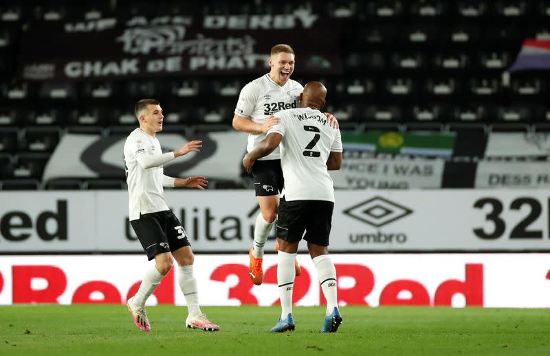 FILE PHOTO: Championship - Derby County v Cardiff City