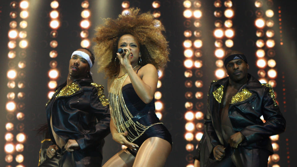 Fleur East performed on the 'X Factor Live Tour' after finishing in second place on the show. (Graham Stone/Barcroft Media via Getty Images)