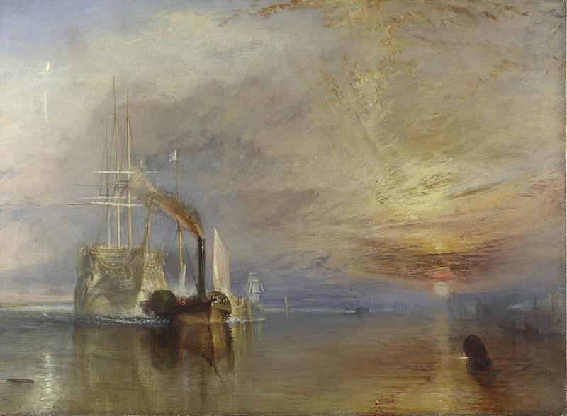 JMW Turner's renowned painting The Fighting Temeraire
