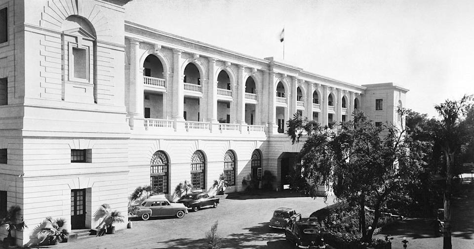 The Maidens Hotel, built in 1903 to host the dignitaries who were attending the Coronation Durbar of King Edward VII and Queen Alexandra as Emperor and Empress of India of the British Raj