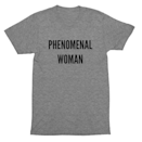 "<p>phenomenalwoman.us</p><p><strong>$35.00</strong></p><p><a href=""https://phenomenalwoman.us/"" rel=""nofollow noopener"" target=""_blank"" data-ylk=""slk:Shop Now"" class=""link rapid-noclick-resp"">Shop Now</a></p><p>This shirt, inspired by Maya Angelou's <em>Phenomenal Woman</em> poem, says it all. Plus proceeds go to benefit nonprofits that help women of all ages, races, and backgrounds like Families Belong Together and Black Futures Lab. </p>"