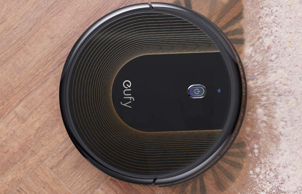 The Eufy BoostIQ RoboVac 30C makes short work of dirt. (Photo: Amazon)