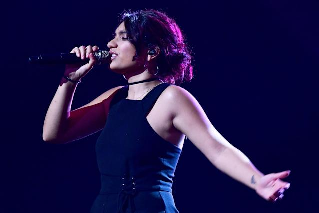 "<p>The Grammys changed the eligibility requirements for Best New Artist this year. That explains how Alessia Cara is eligible, even though she had a top five hit, ""Here,"" nearly two years ago. Cara had a convincing breakthrough this year, with three top 10 single.<br>(Photo: Harry How/Getty Images) </p>"