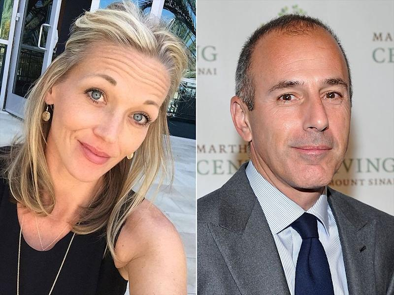 Ex-Today Staffer Says Matt Lauer Cheated on His Wife with Her