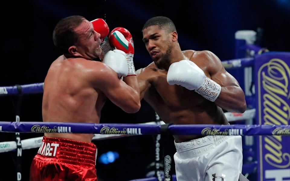Fury called out Anthony Joshua for the much anticipated fight after his rival's victory over Kubrat Pulev - REUTERS