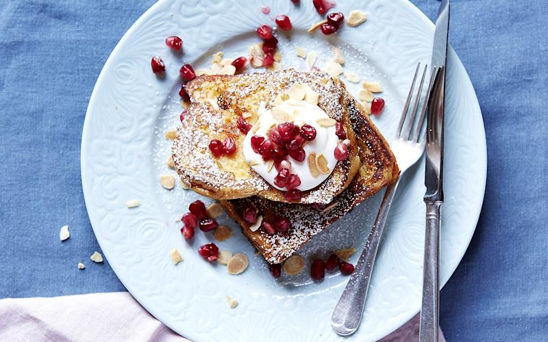 Fruity French toast - Credit: Studio Yagüe
