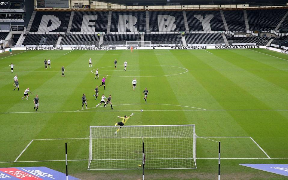 Derby County lose EFL legal dispute and face possible points deduction next season - PA