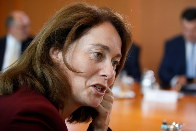 "Germany's Justice Minister Katarina Barley says the study on abuse in the Catholic Church was ""shocking and probably just the tip of the iceberg"""